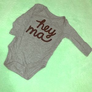 Other - Baby Boy Long Sleeve Onesie